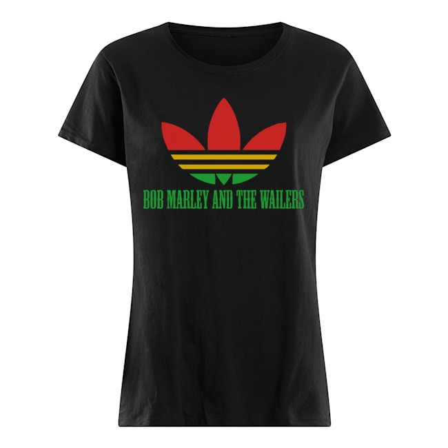 Official Adidas Bob Marley And The Wailers ladies tee