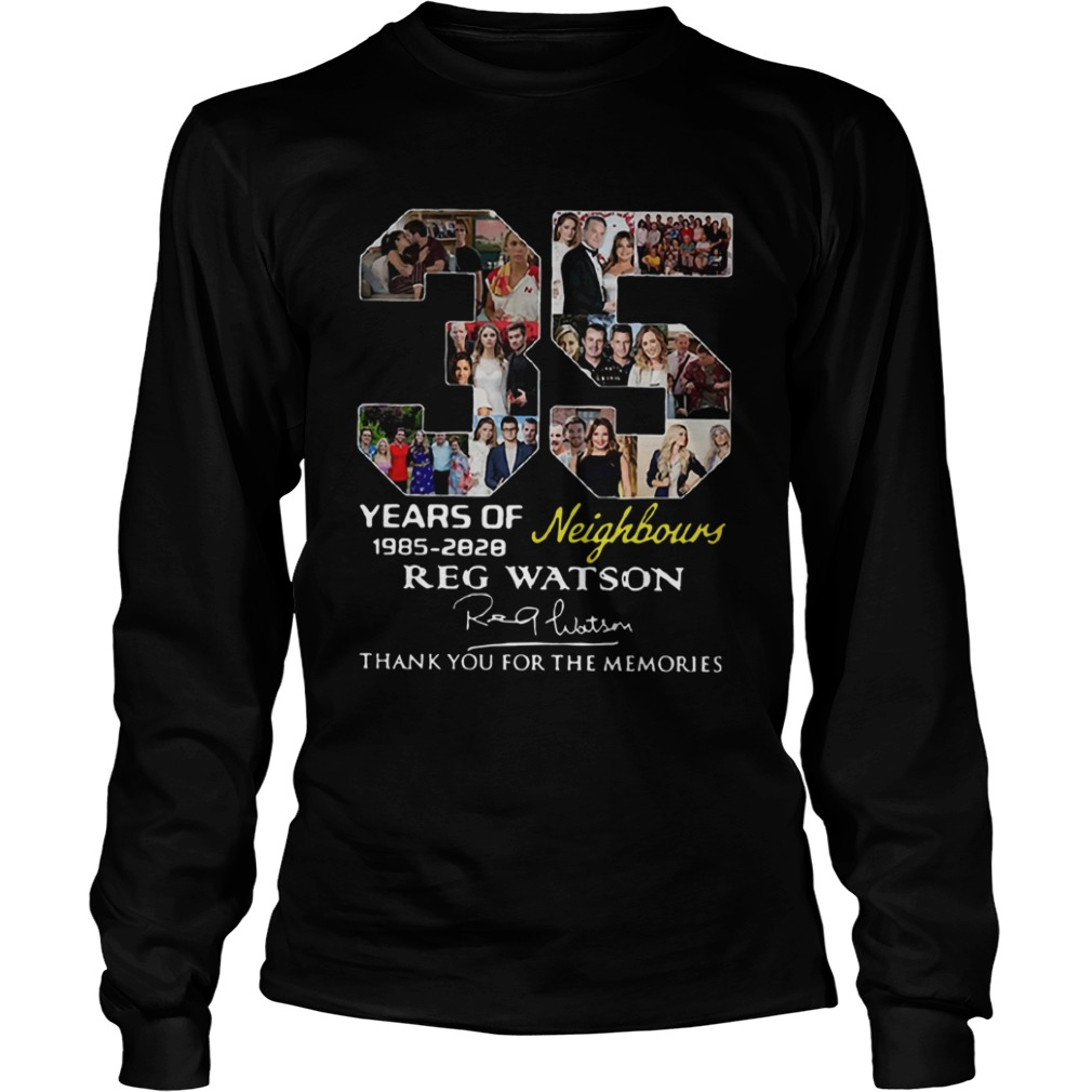 35 Years of Neighbours Reg Watson thank you for the memories  LongSleeve