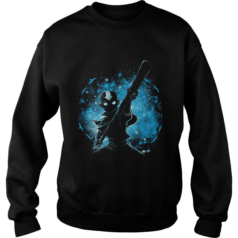 Aang Space Avatar Galaxy  Sweatshirt