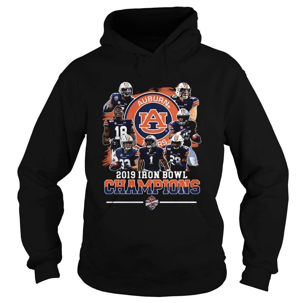 Auburn Tigers 2019 Iron Bowl Champions Team  Hoodie