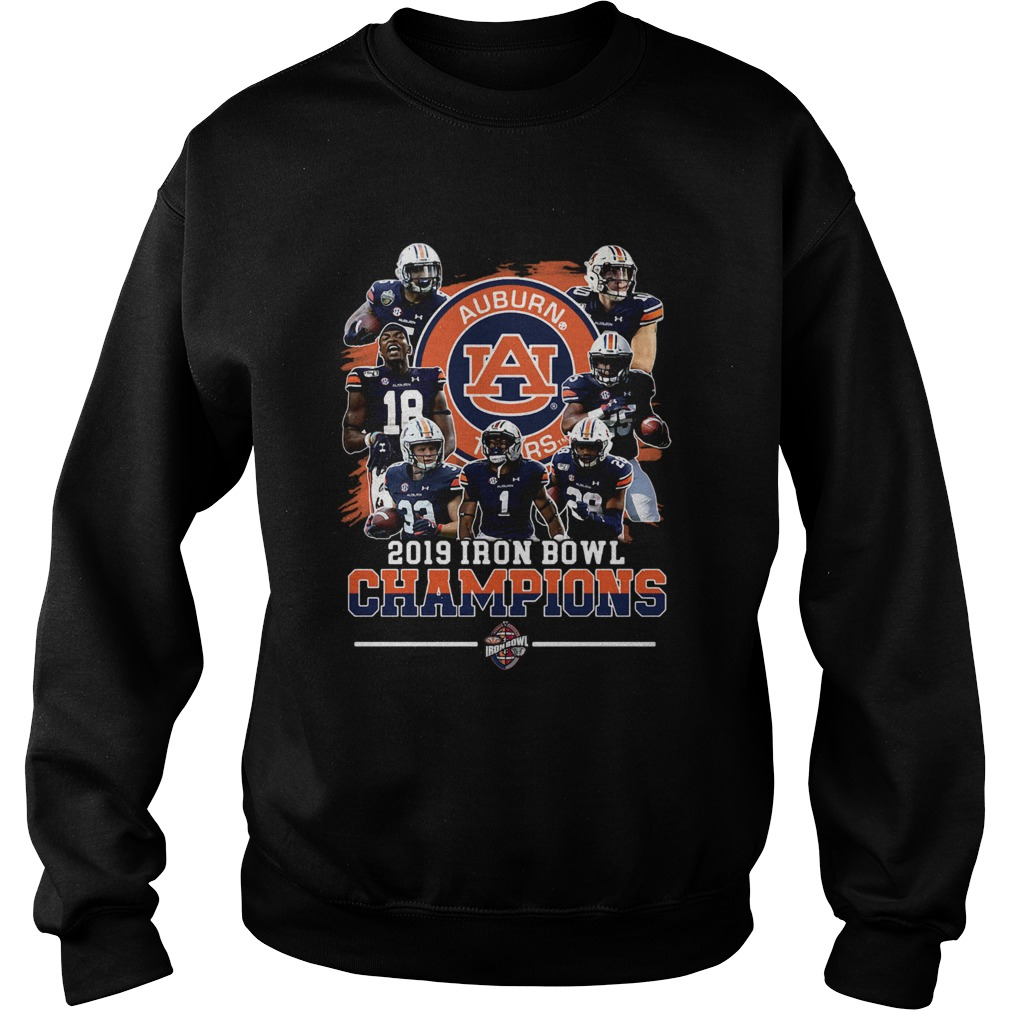 Auburn Tigers 2019 Iron Bowl Champions Team  Sweatshirt
