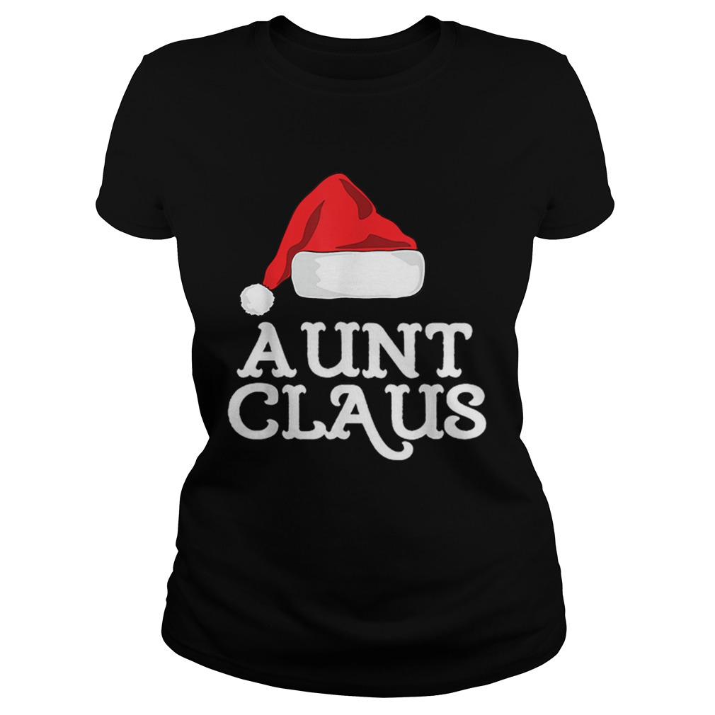 Aunt Claus Christmas Family Group Matching Pajama  Classic Ladies