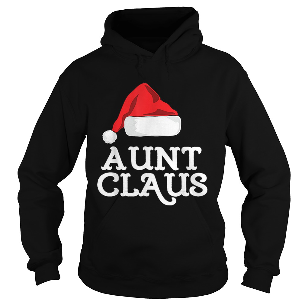 Aunt Claus Christmas Family Group Matching Pajama  Hoodie