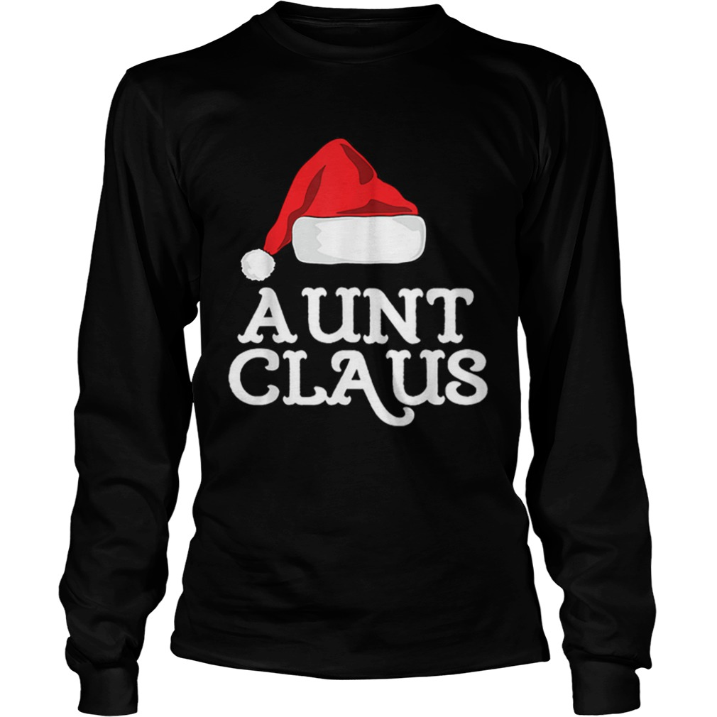 Aunt Claus Christmas Family Group Matching Pajama  LongSleeve
