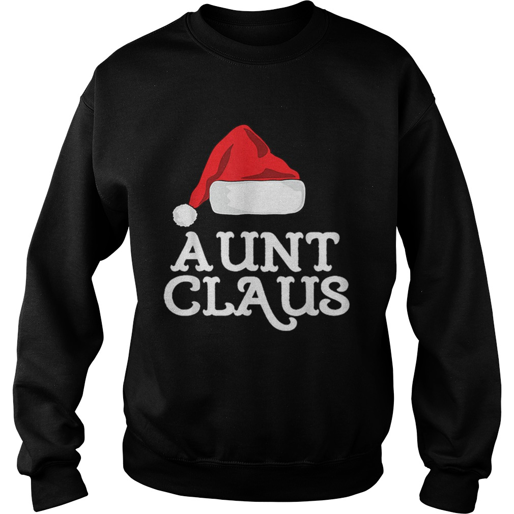 Aunt Claus Christmas Family Group Matching Pajama  Sweatshirt