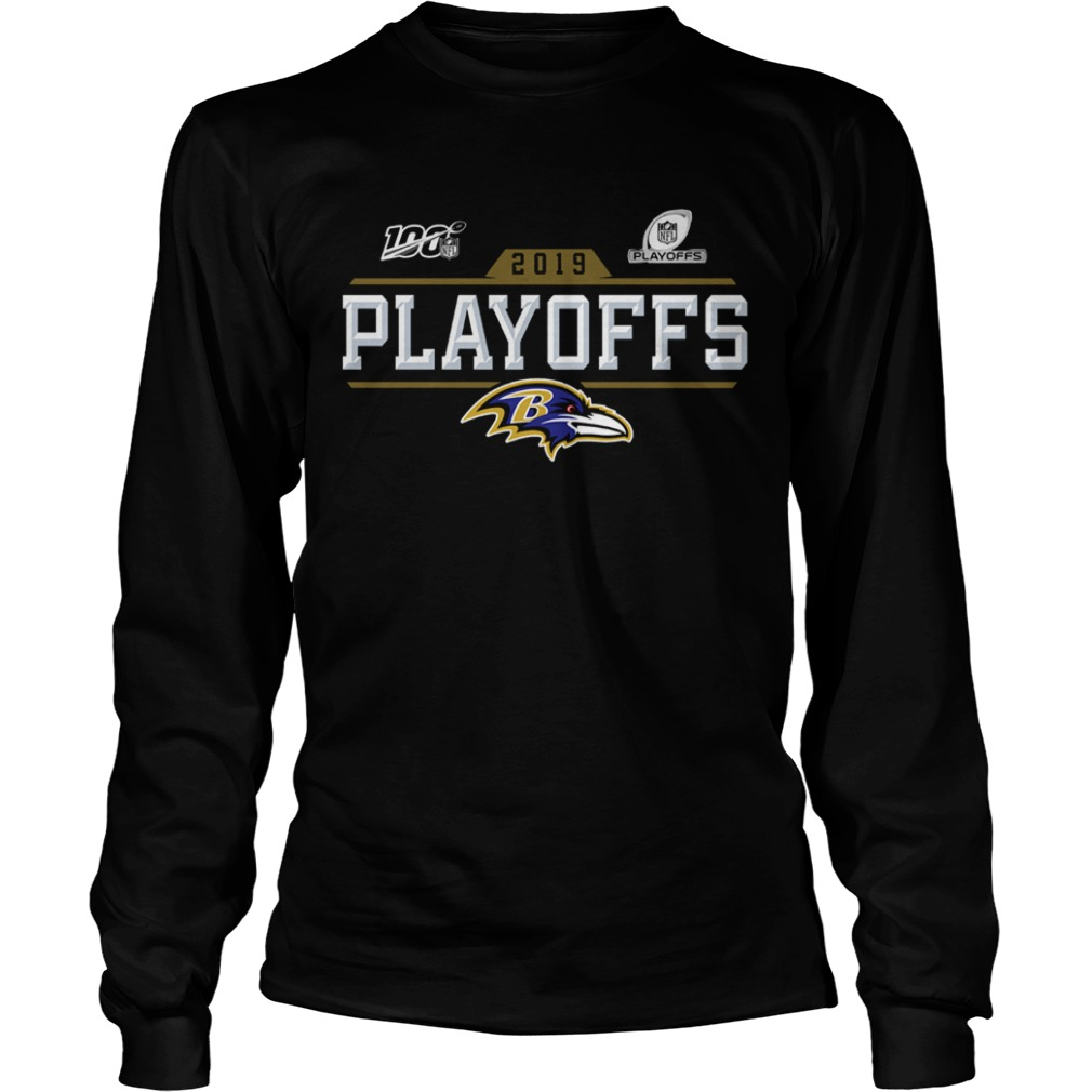 Baltimore Ravens 2019 NFL Playoffs  LongSleeve