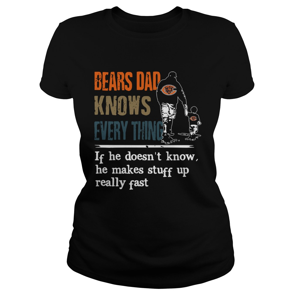 Bears dad know everything if he doesnt know he make stuff up really fast  Classic Ladies