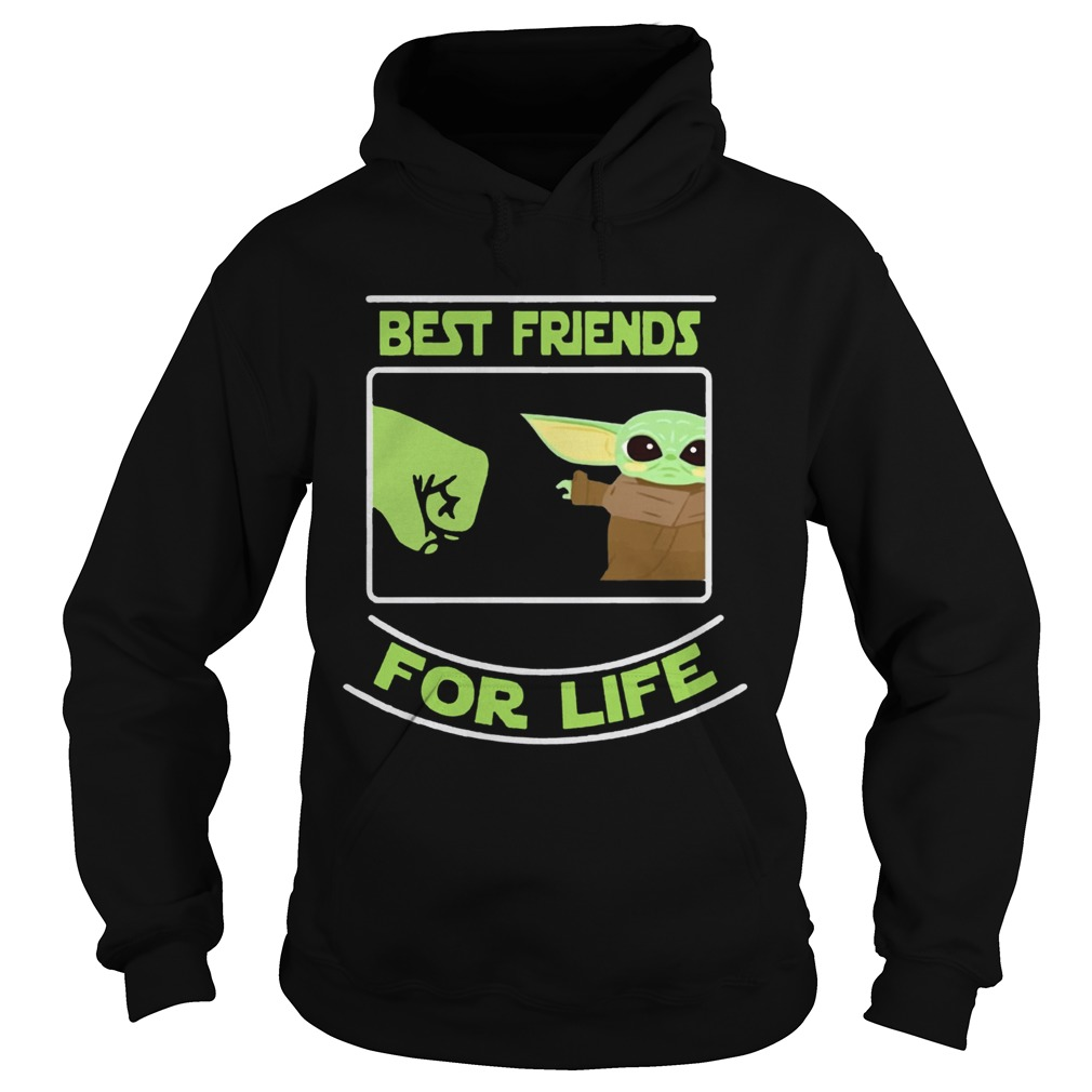 Best Friends For Life Baby Yoda  Hoodie