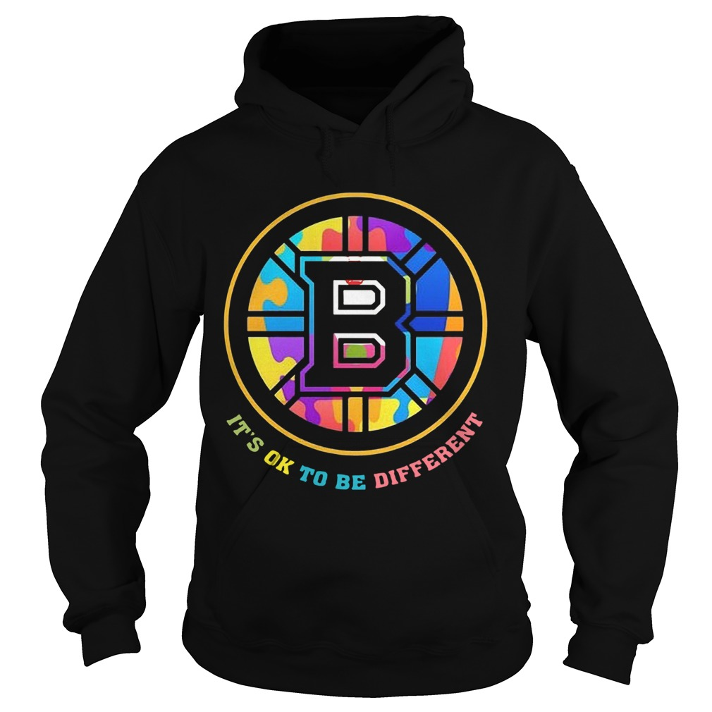 Boston Bruins Its Ok To Be Different  Hoodie