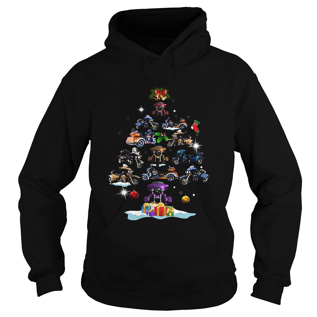 BRP CanAm Spyder Roadster Christmas tree  Hoodie