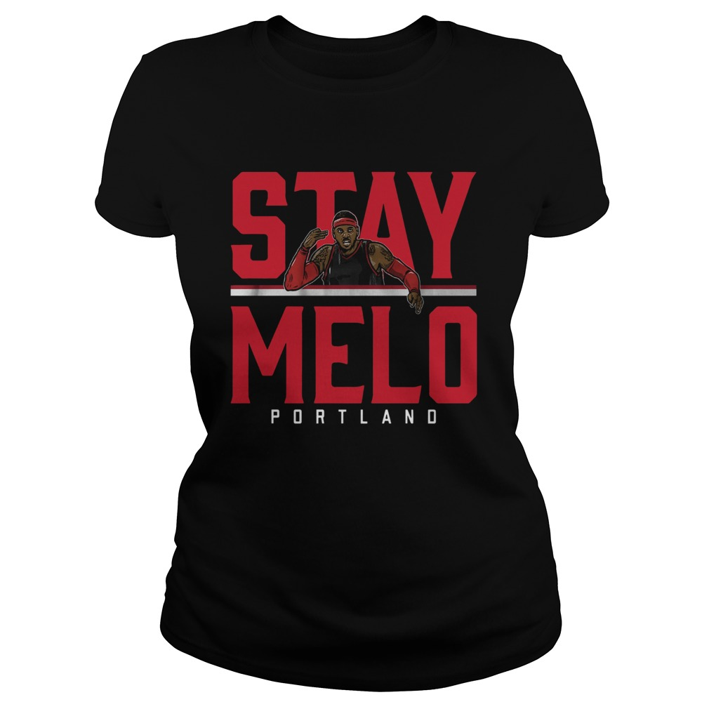 Carmelo Anthony Stay Melo Portland  Classic Ladies