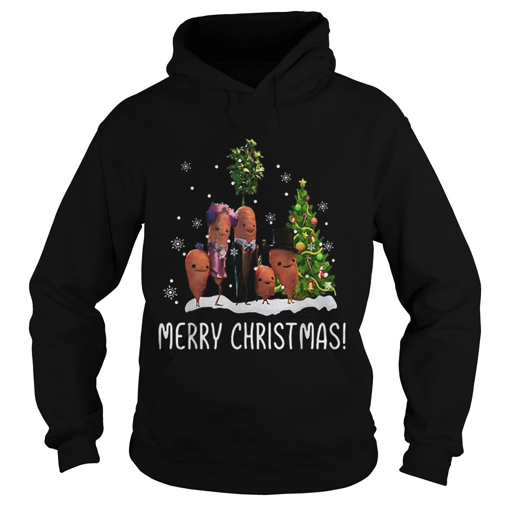 Carrots family Merry Christmas  Hoodie