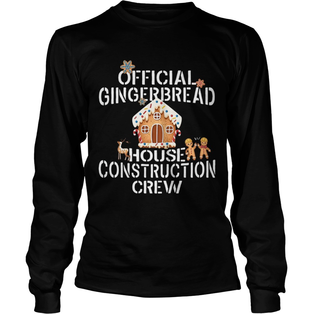 Gingerbread House Construction Crew Decorating  LongSleeve