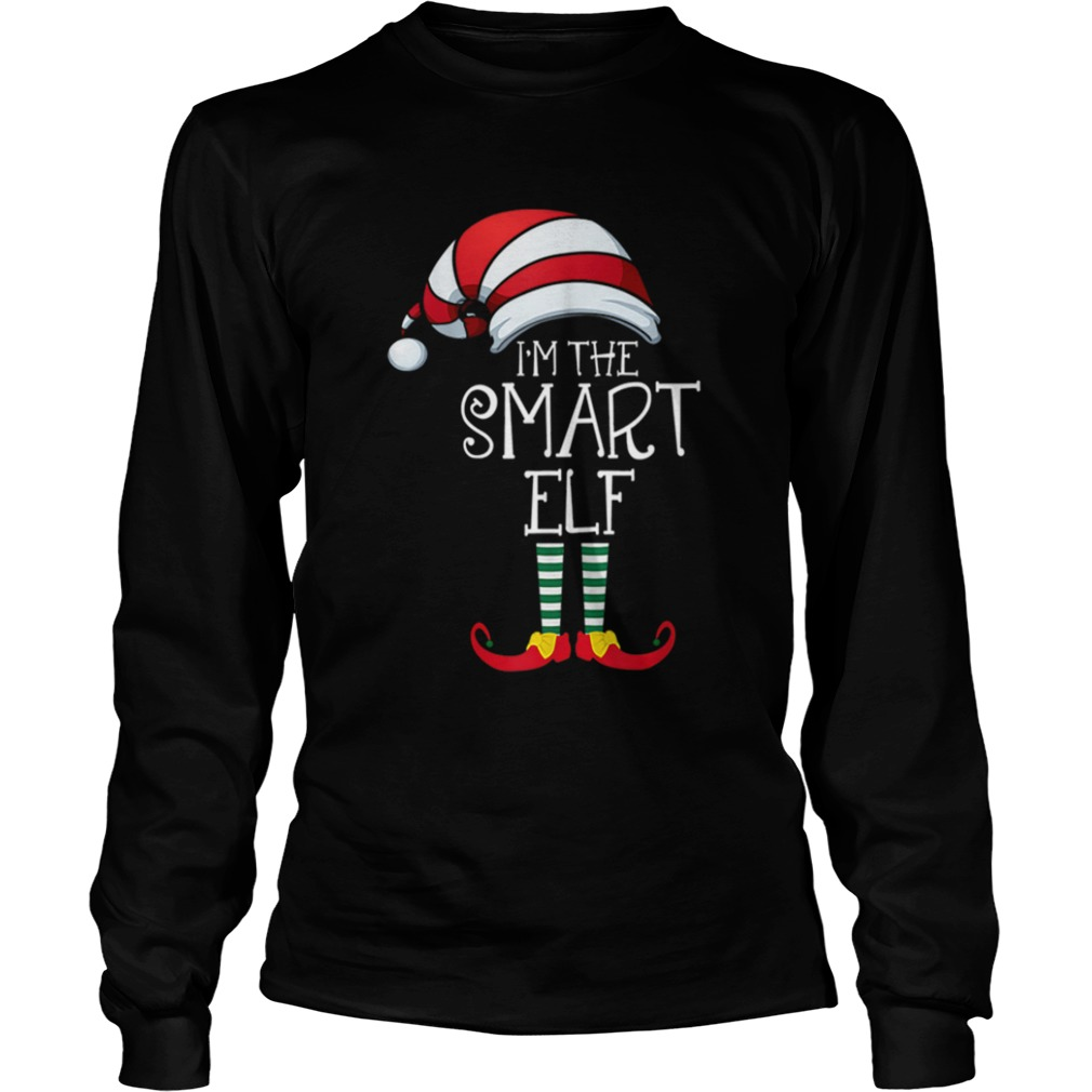 Im The Smart Elf Family Matching Christmas  LongSleeve
