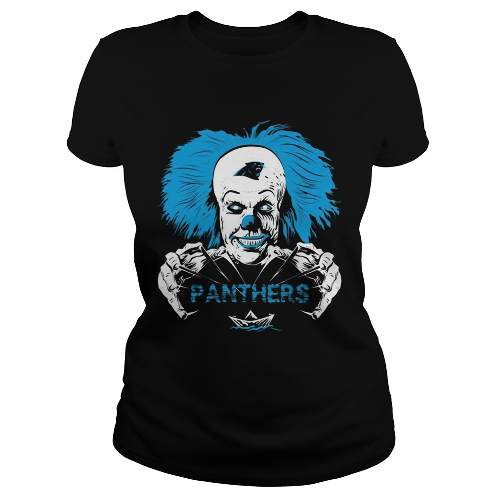 It Horror Movies Carolina Panthers  Classic Ladies