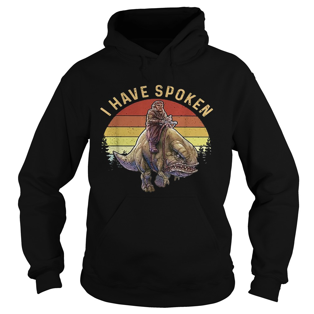 Kuill The Mandalorian I have spoken sunset  Hoodie
