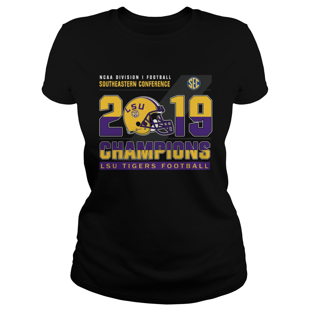 LSu Tigers Football Ncaa division football southeastern conference 2019 champions  Classic Ladies