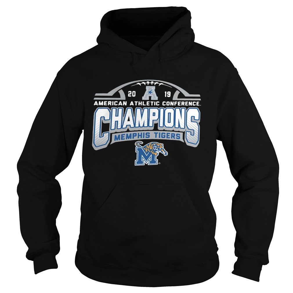 Memphis Tigers American Athletic Conference 2019 AAC Football Champions  Hoodie