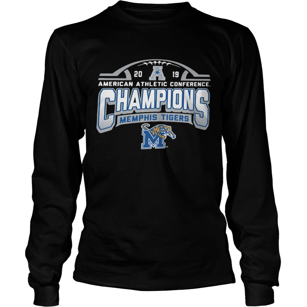 Memphis Tigers American Athletic Conference 2019 AAC Football Champions  LongSleeve