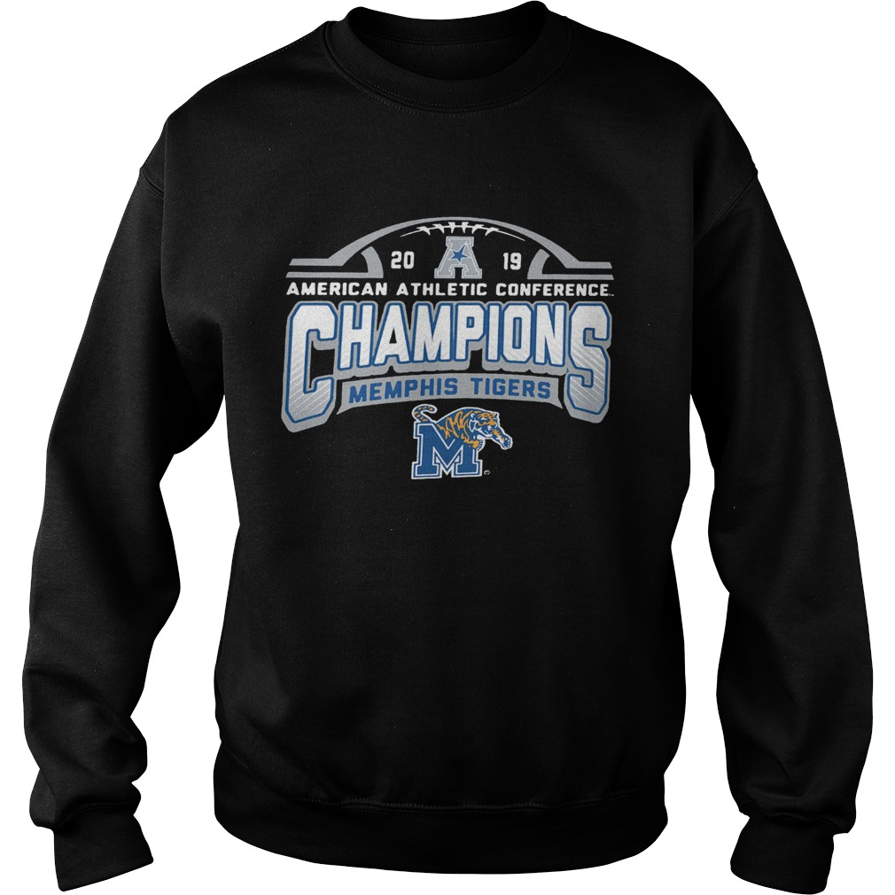Memphis Tigers American Athletic Conference 2019 AAC Football Champions  Sweatshirt