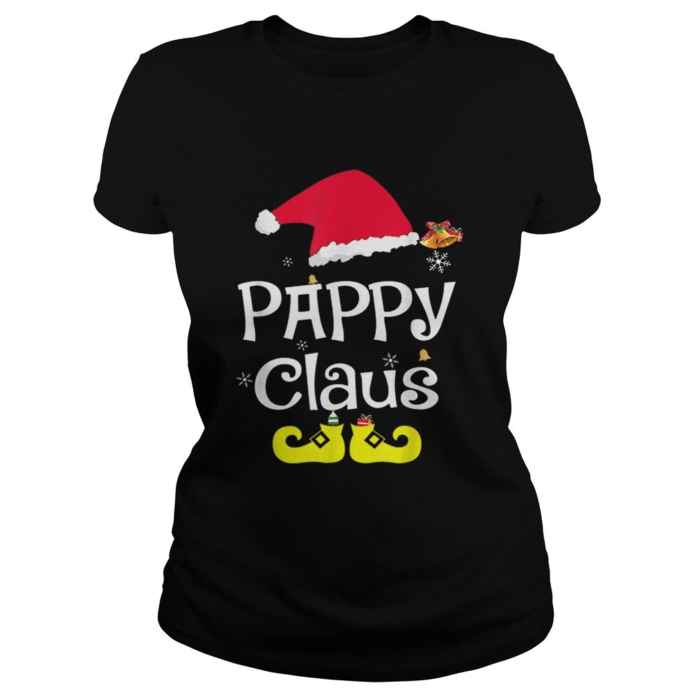 Merry Santa Pappy Claus Christmas Family  Classic Ladies
