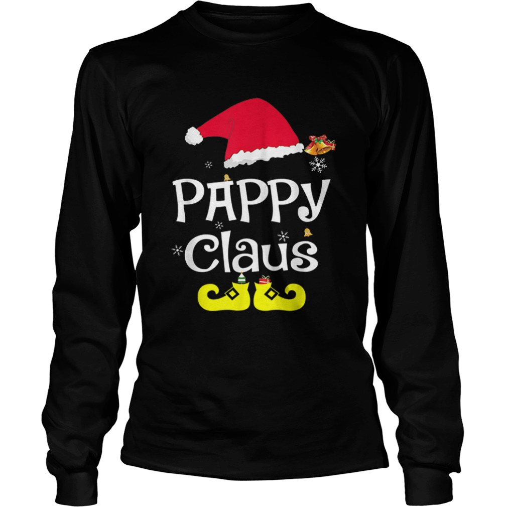 Merry Santa Pappy Claus Christmas Family  LongSleeve