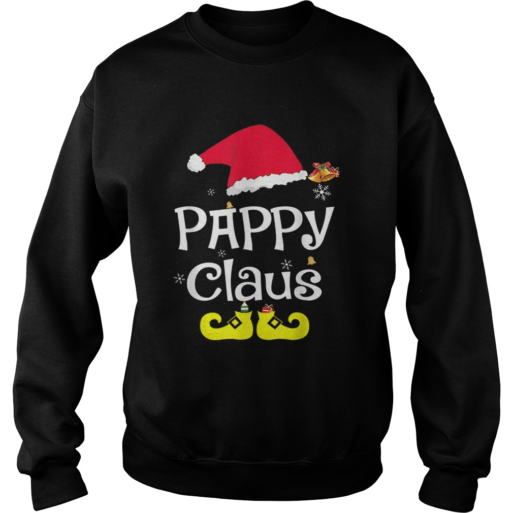 Merry Santa Pappy Claus Christmas Family  Sweatshirt