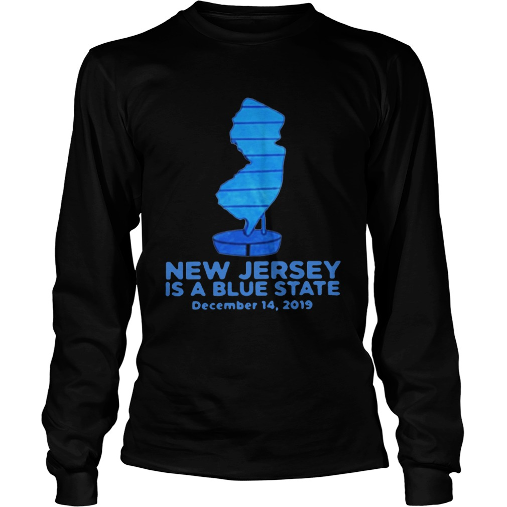 New Jersey Is A Blue State  LongSleeve