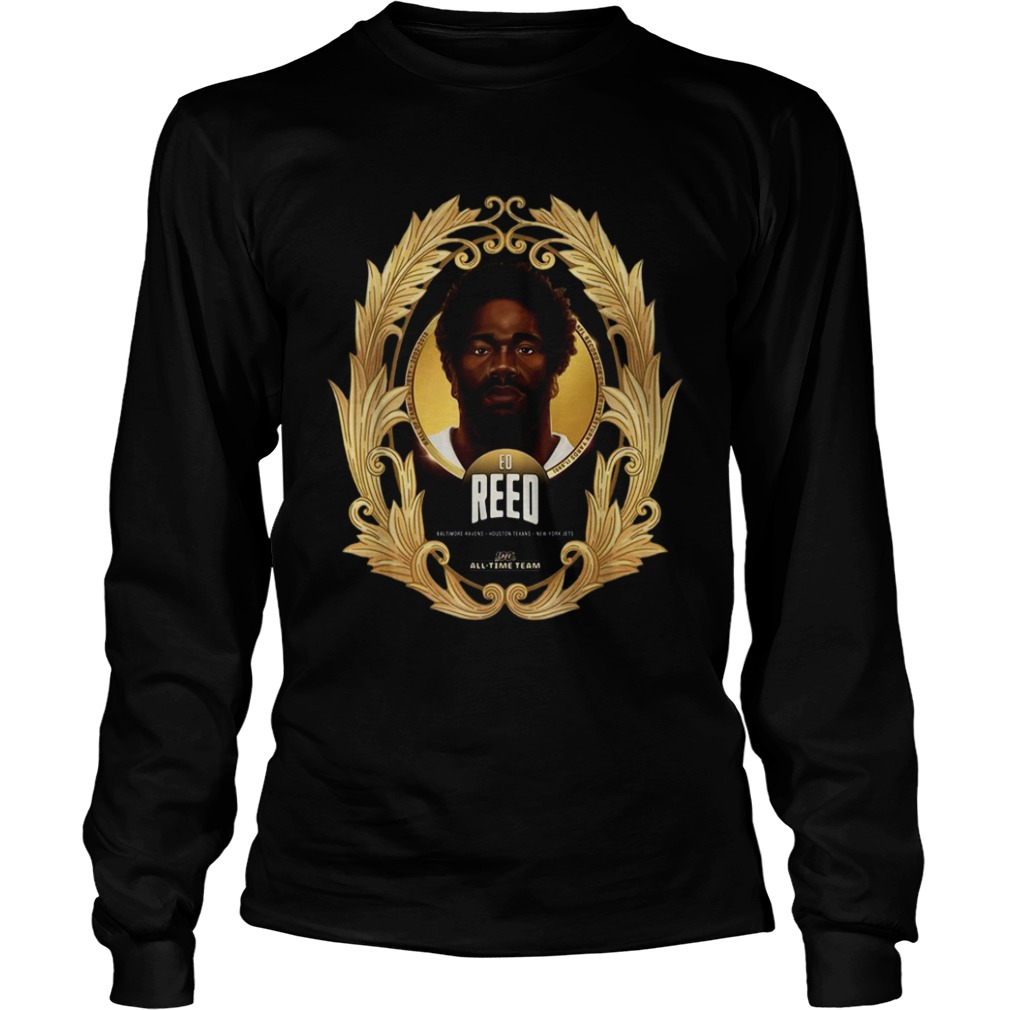 NFL 100 AllTime Team Ed Reed  LongSleeve