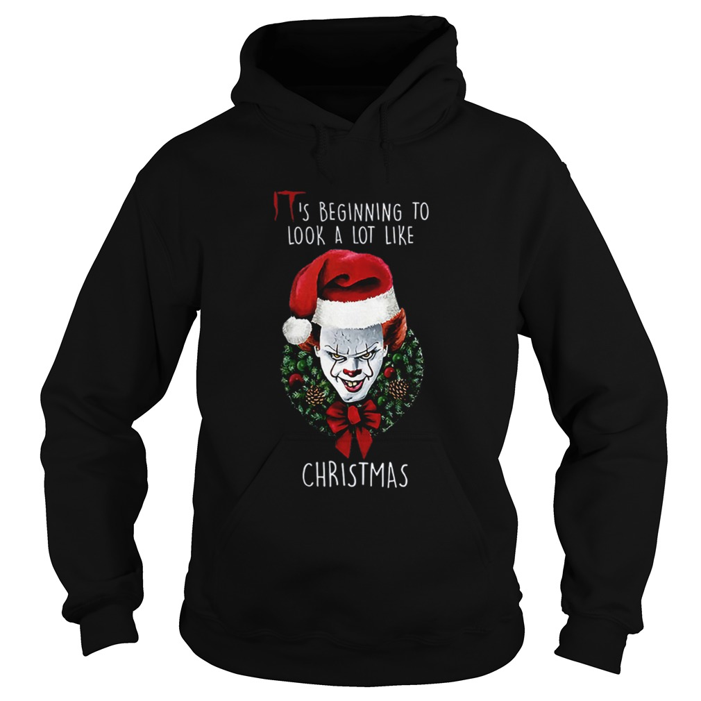 Pennywise Its beginning to look alot like christmas  Hoodie