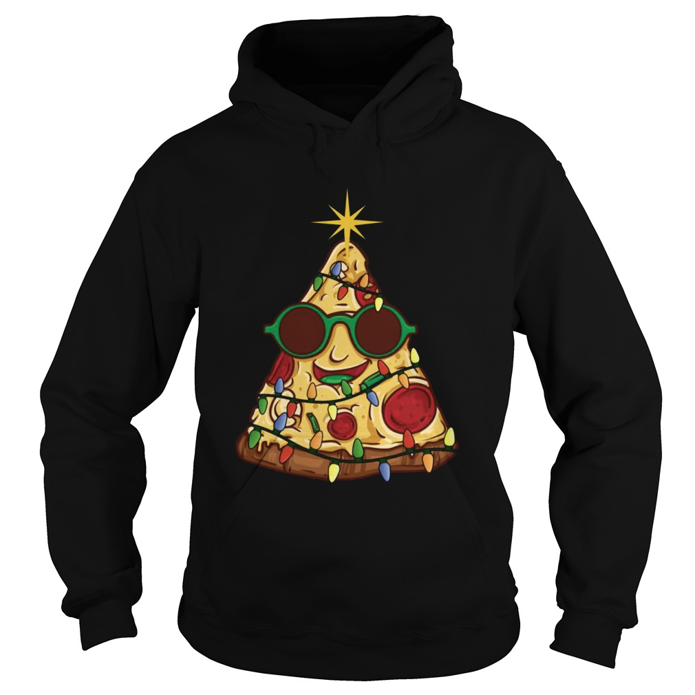 Pizza Christmas Tree  Hoodie