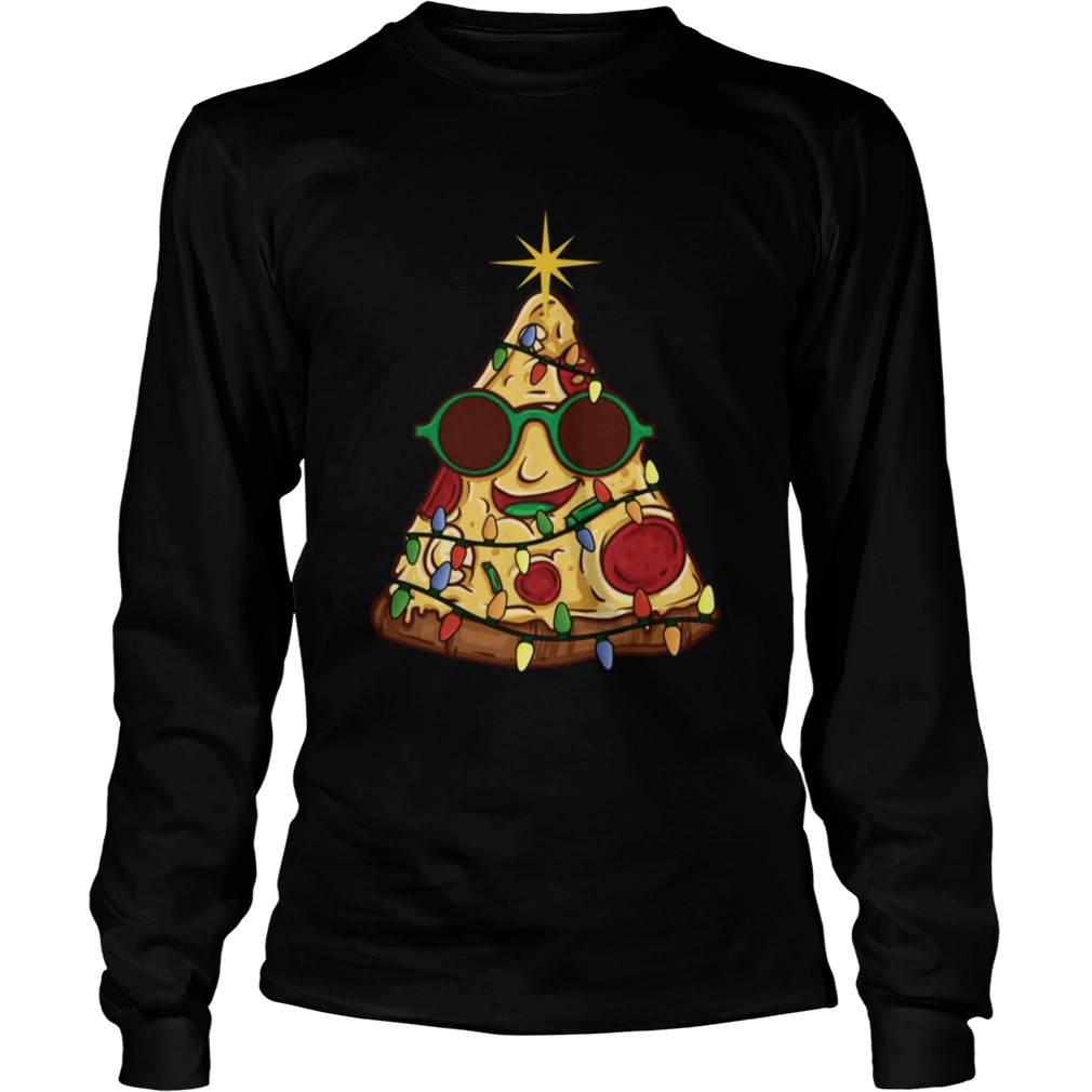 Pizza Christmas Tree  LongSleeve
