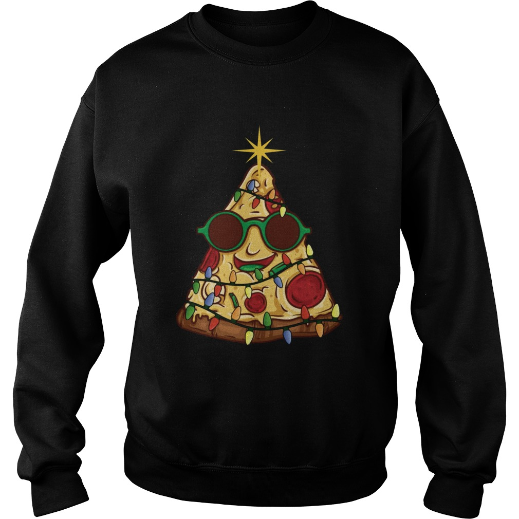 Pizza Christmas Tree  Sweatshirt