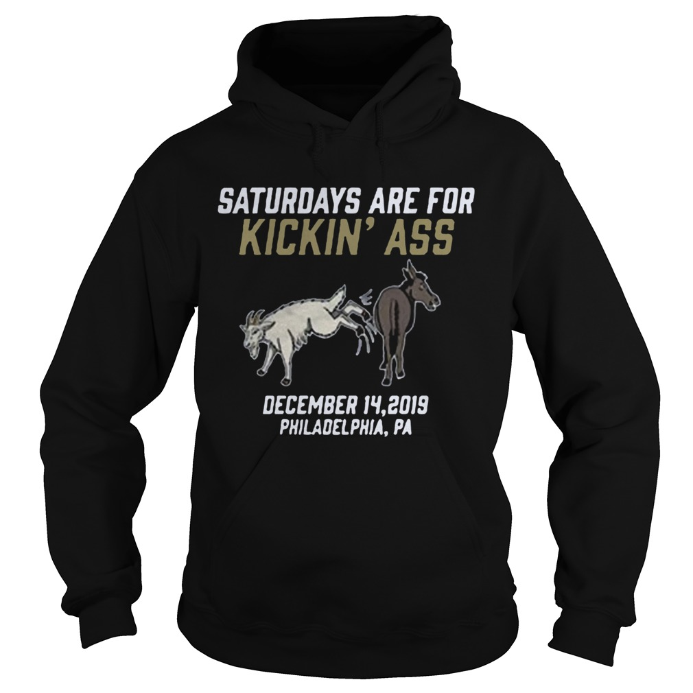 Saturdays Are For Kickin Ass 2020  Hoodie