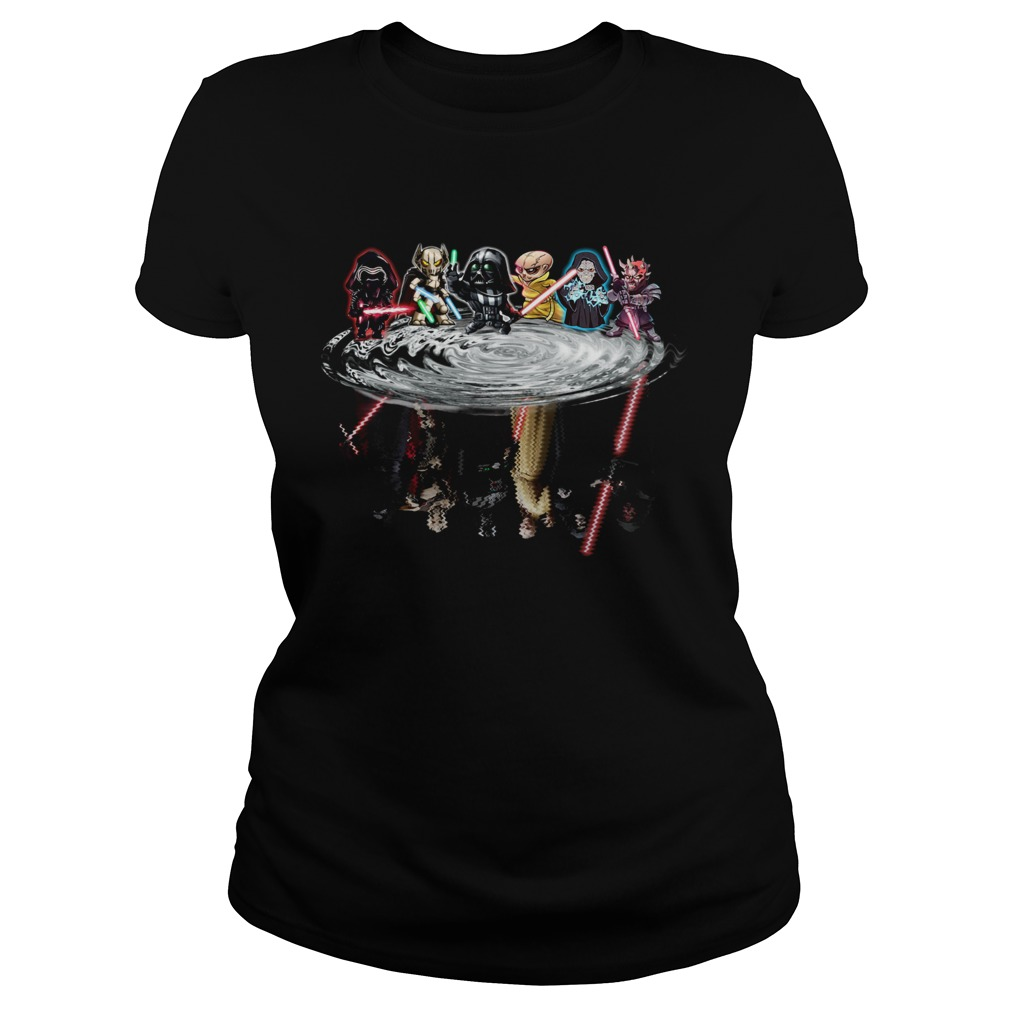 Star Wars Chibi Characters Water Reflections  Classic Ladies