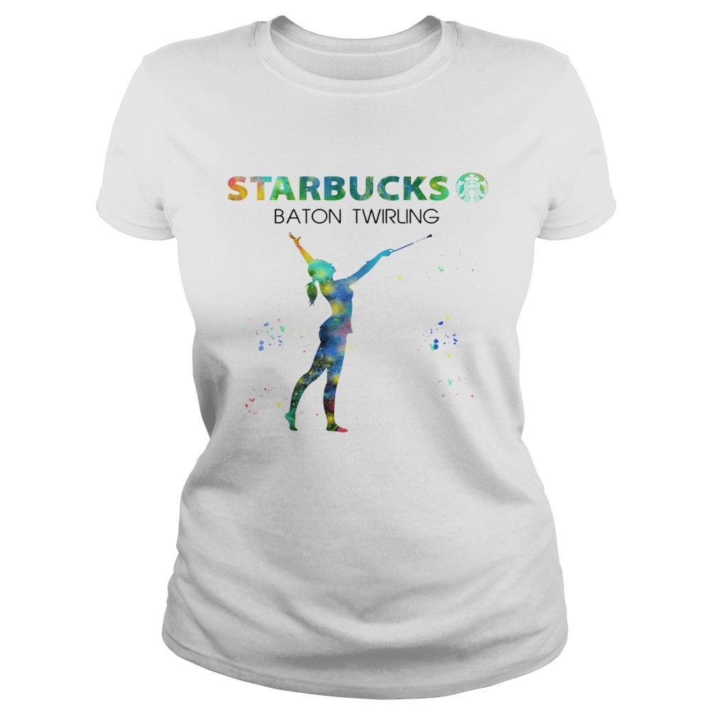 Starbucks Baton Twirling  Classic Ladies
