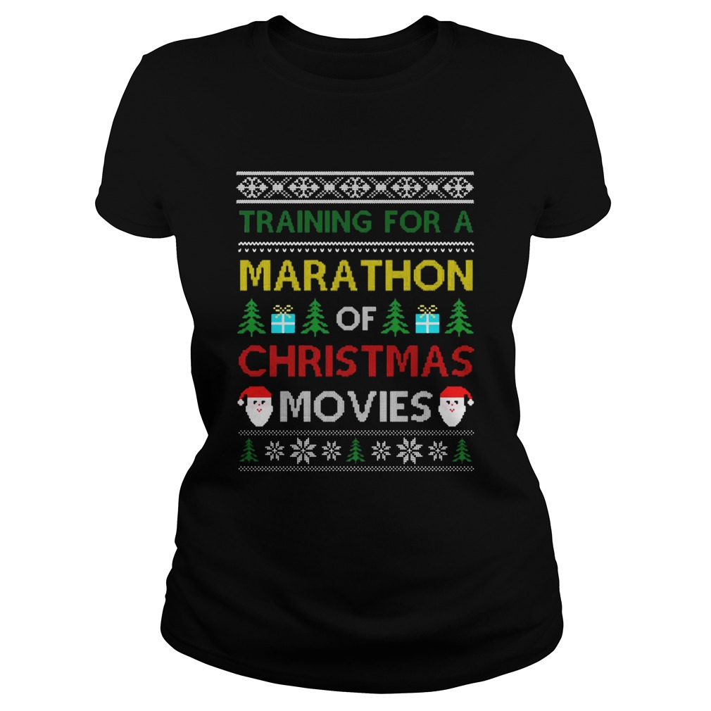 Training for a marathon of Christmas movies  Classic Ladies
