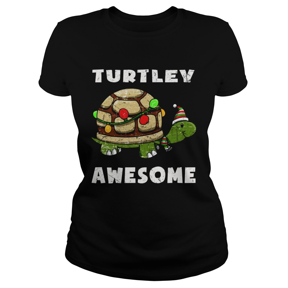 Turtley awesome christmas  Classic Ladies