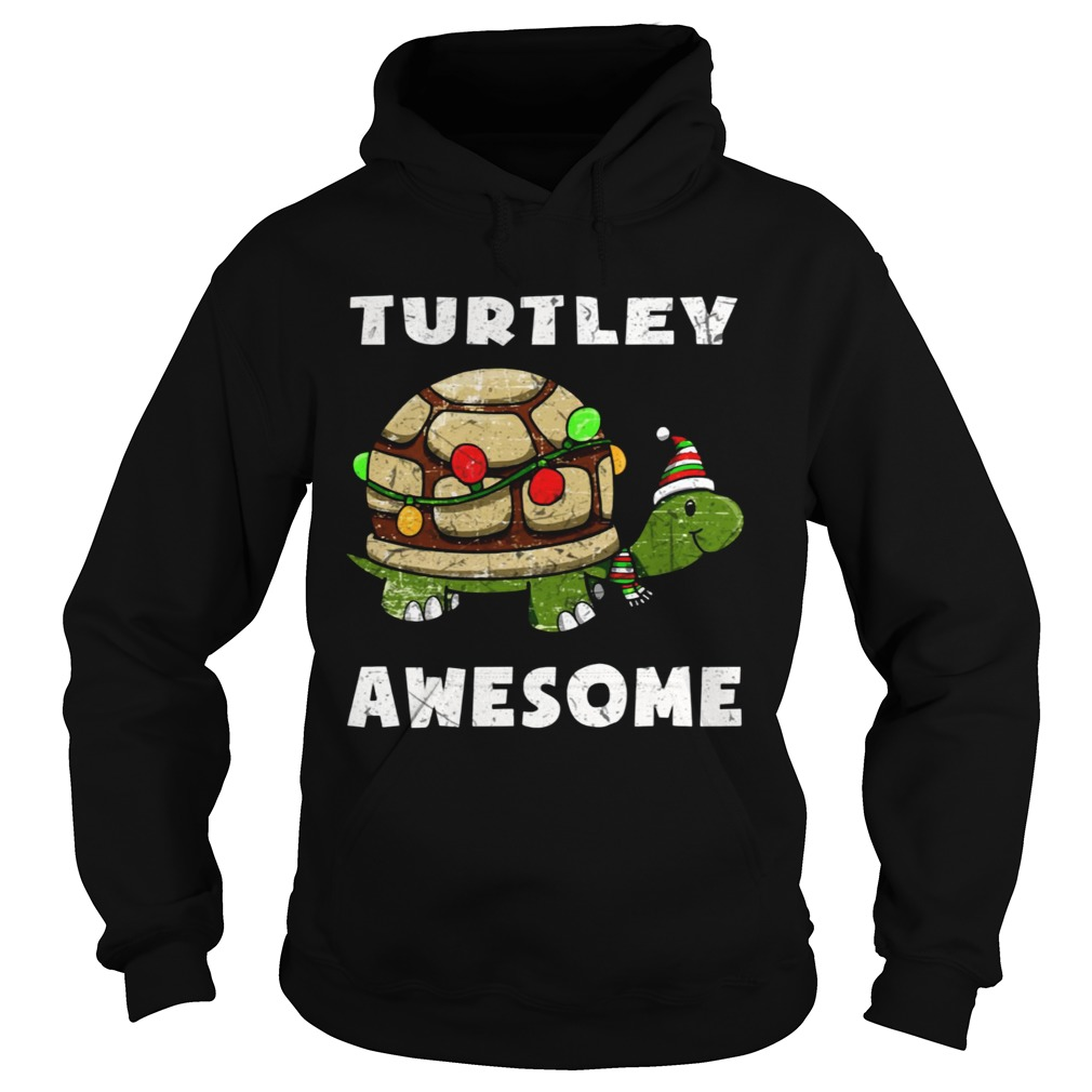 Turtley awesome christmas  Hoodie