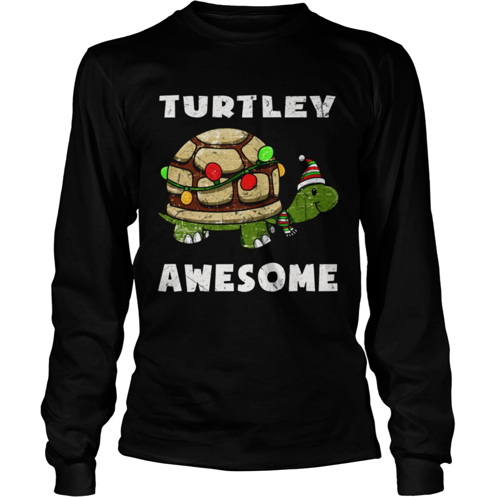 Turtley awesome christmas  LongSleeve