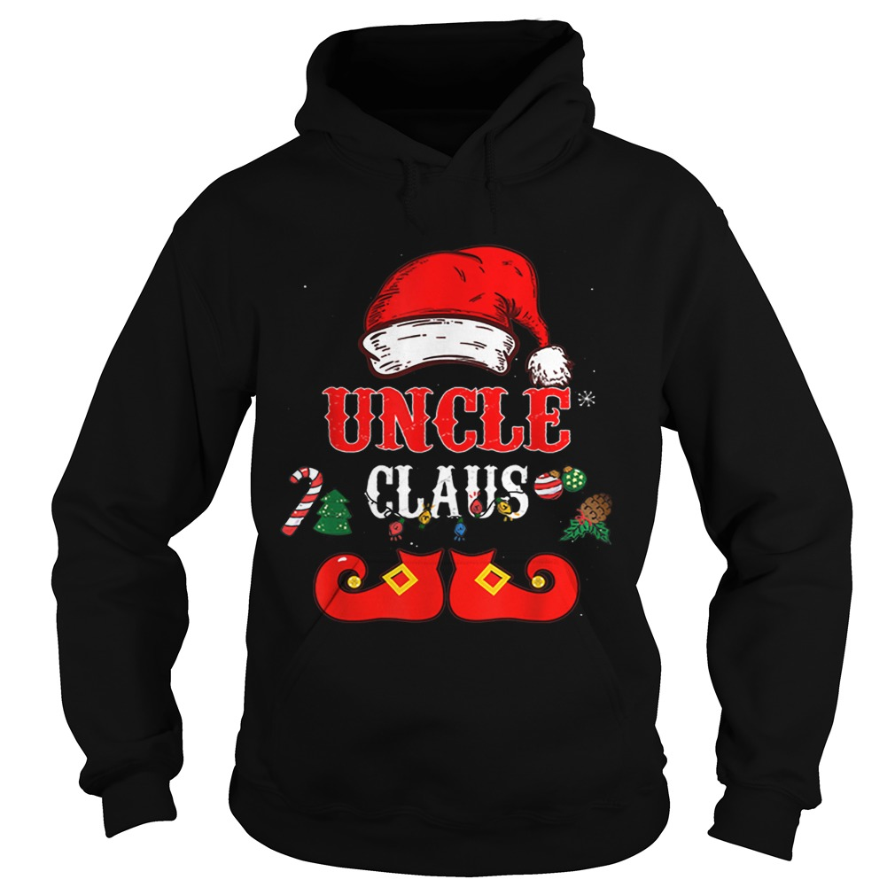 Uncle Claus Santa Hat Christmas  Hoodie
