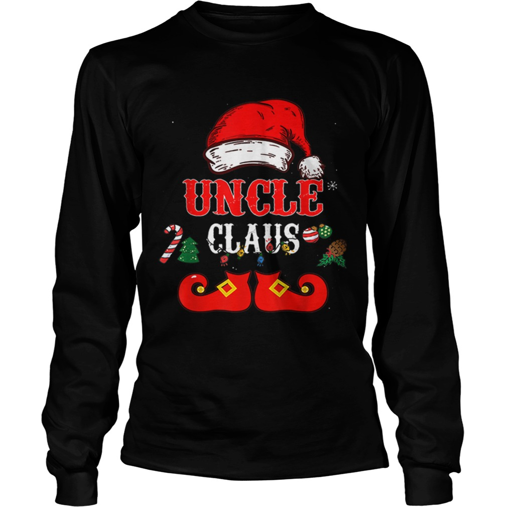 Uncle Claus Santa Hat Christmas  LongSleeve
