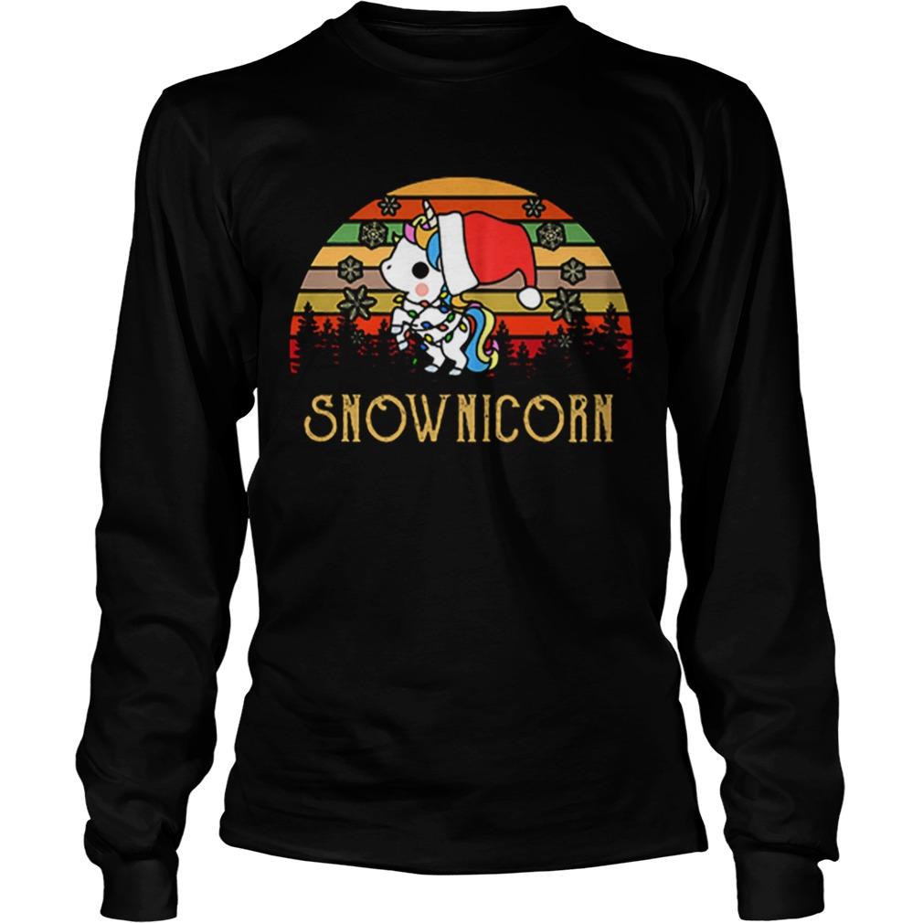 Unicorn Snow Unicorn vintage  LongSleeve