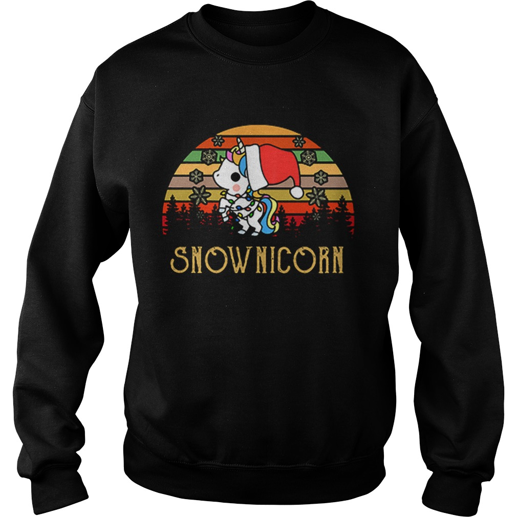 Unicorn Snow Unicorn vintage  Sweatshirt