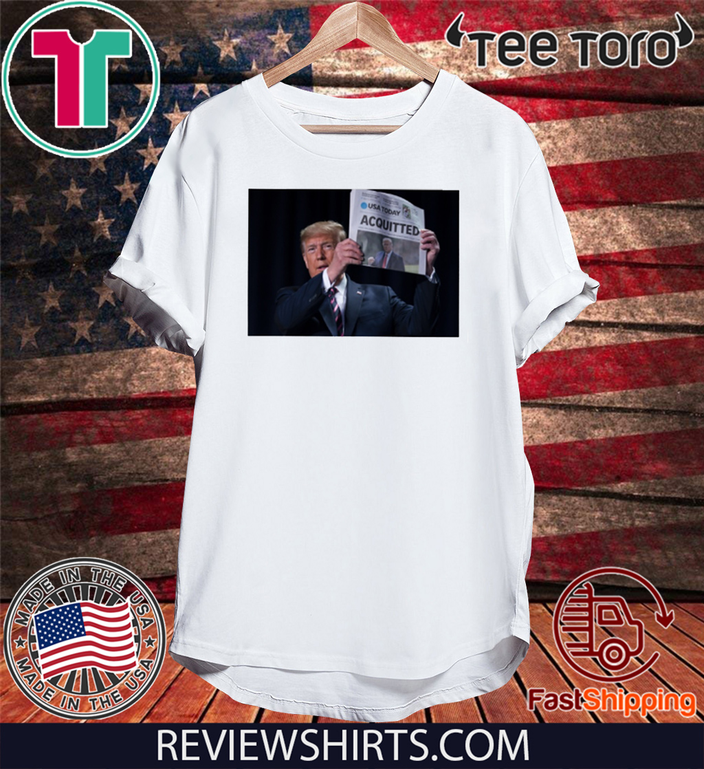 Acquitted Trump Official T-Shirt