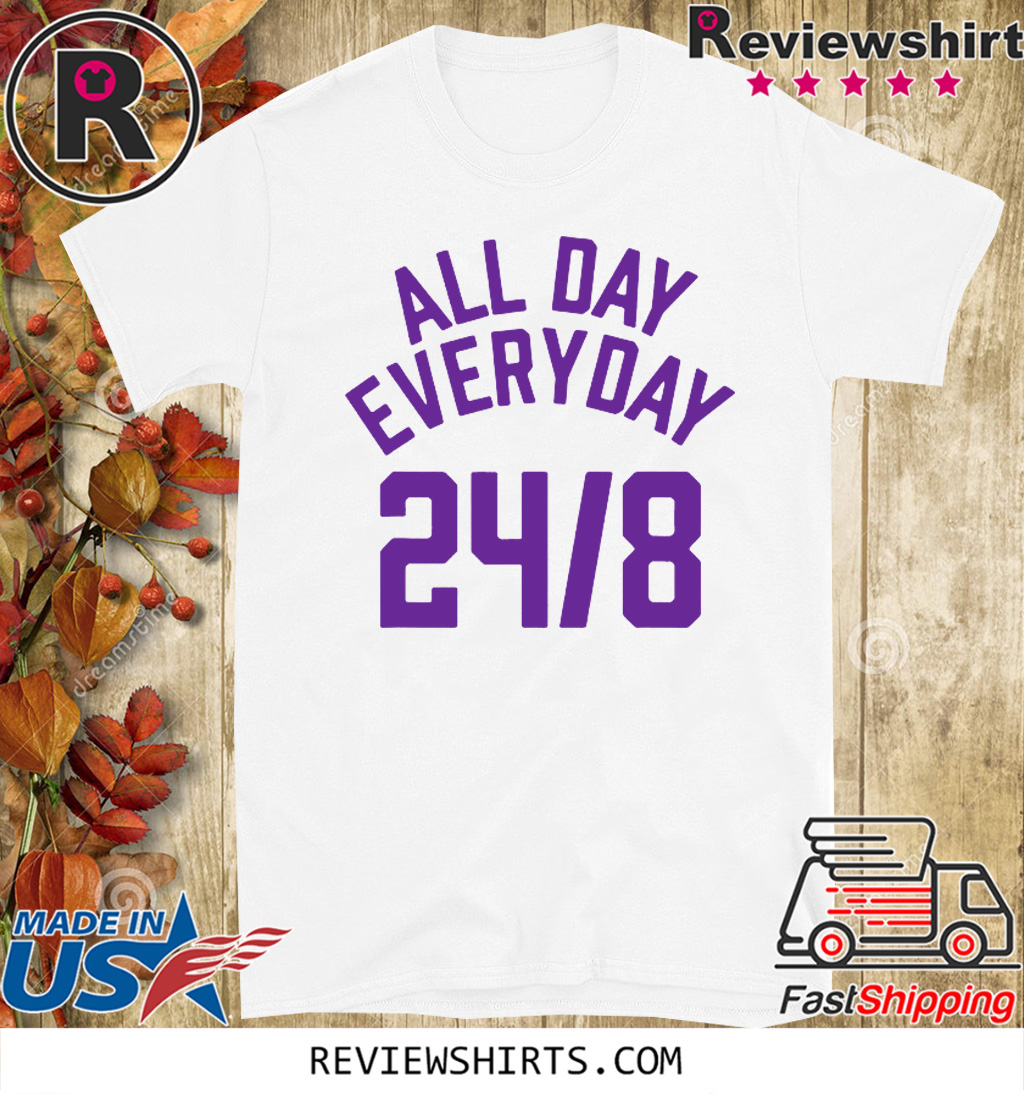 All Day Everyday 248 Hoops Legend Tee Shirt