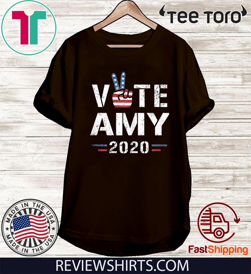 Amy Klobuchar for President Men Women Amy Klobuchar 2020 T-Shirt