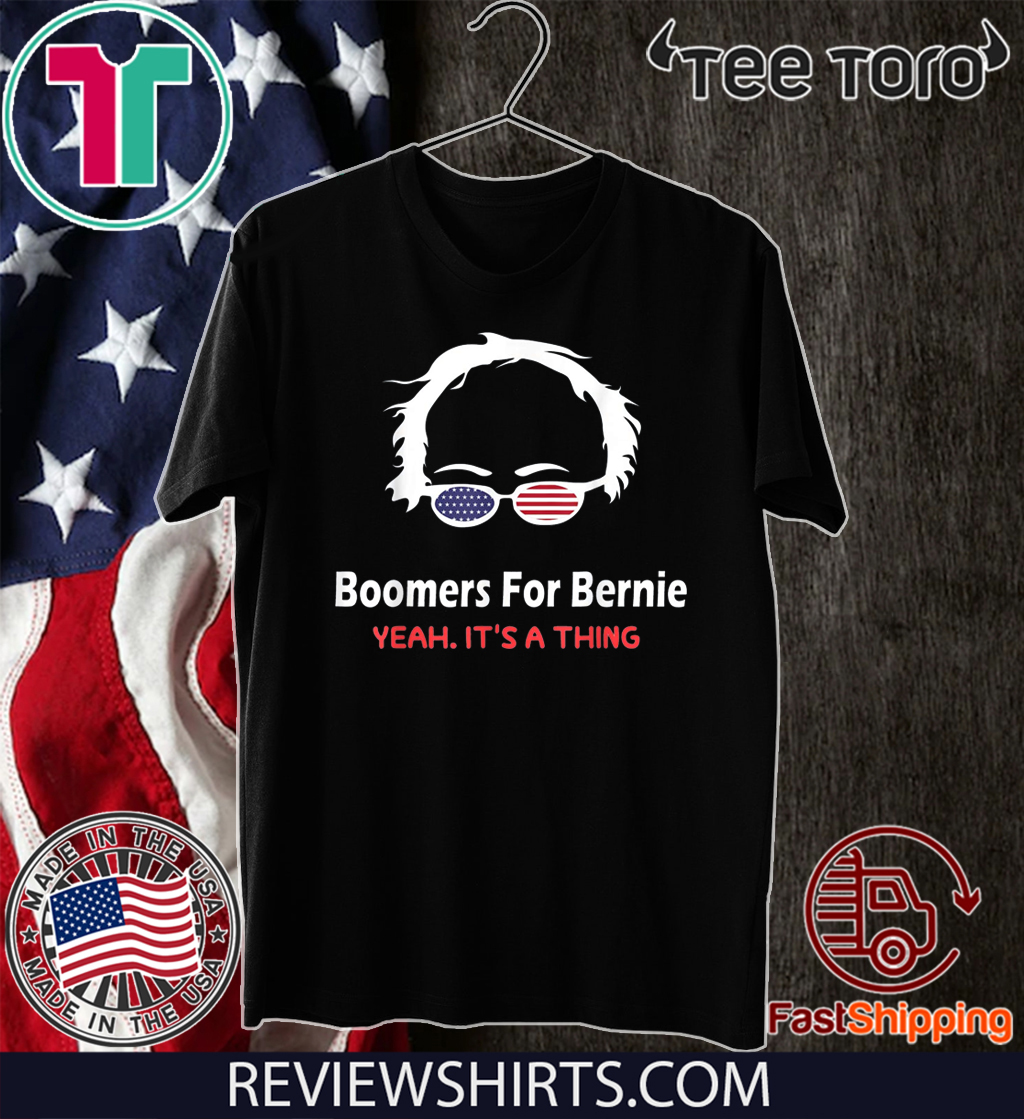 Boomers for bernie yeah it is a thing 2020 T-Shirt