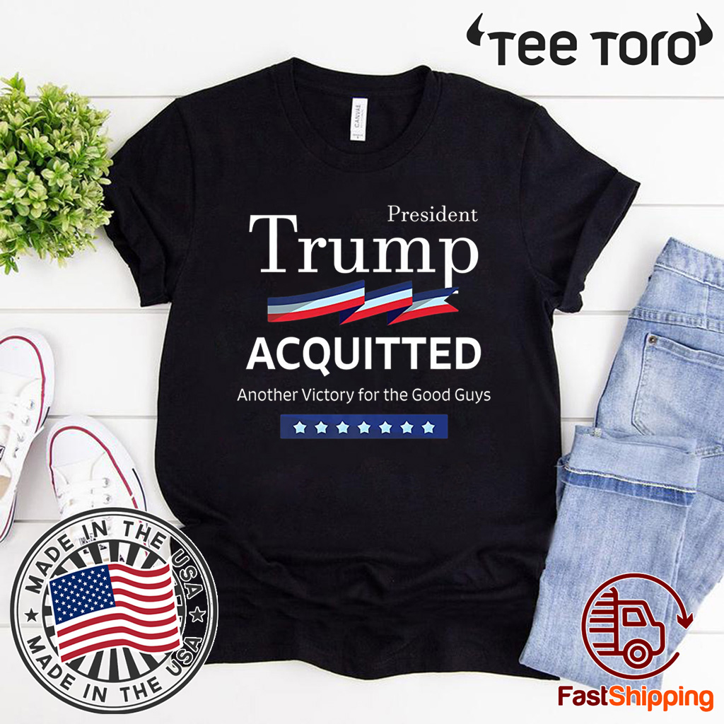 President Trump Shirt Acquitted Victory Funny Acquittal Pro-Trump Premium T-Shirt