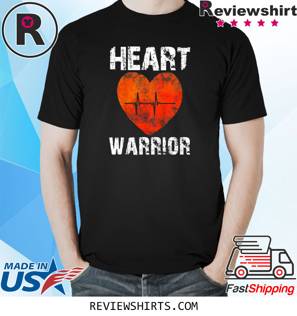 CHD Awareness Heart Warrior Shirt It's not for the weak shirt